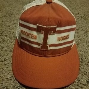 Vintage 1980s Univeristy of Texas Trucker Hat